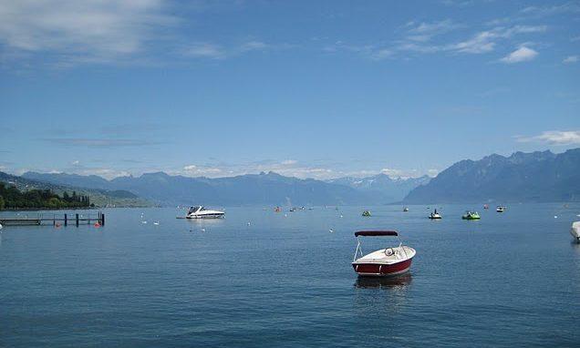 Lausanne and Lake Geneva, June 2011