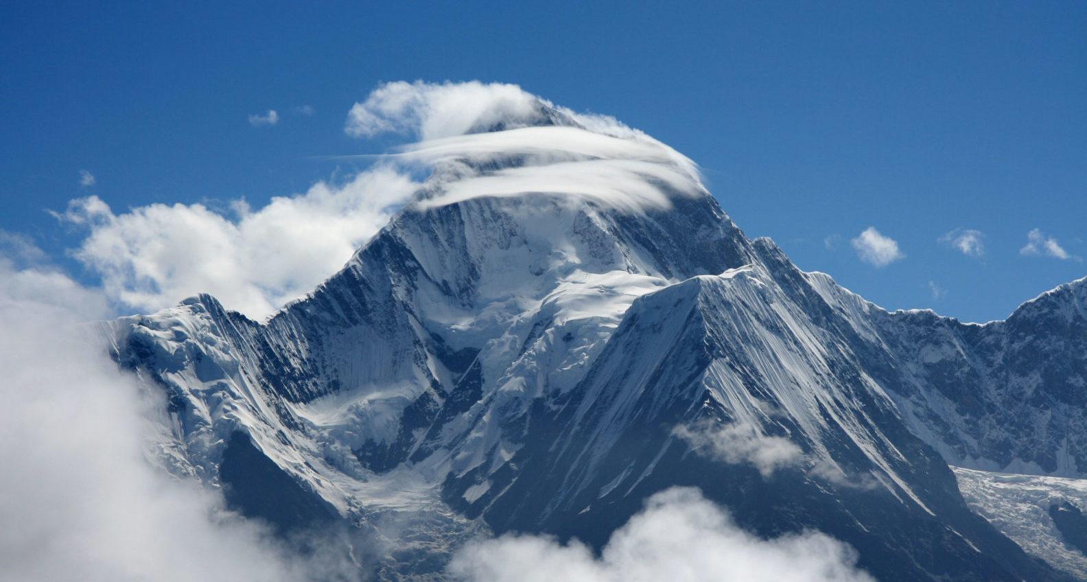 Mt. Gongga, 贡嘎山 (7,566m)
