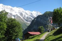Gimmelwald-Murren, In Swiss Alps, 2011