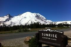 Mt. Rainier National Park (4,392m), 2013