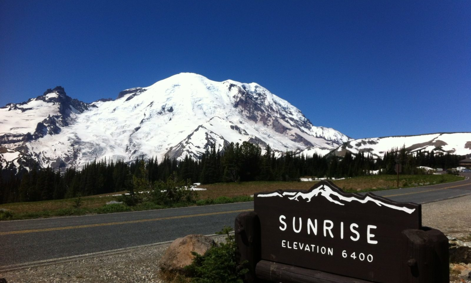 Mt. Rainier National Park (4,392m), 2013