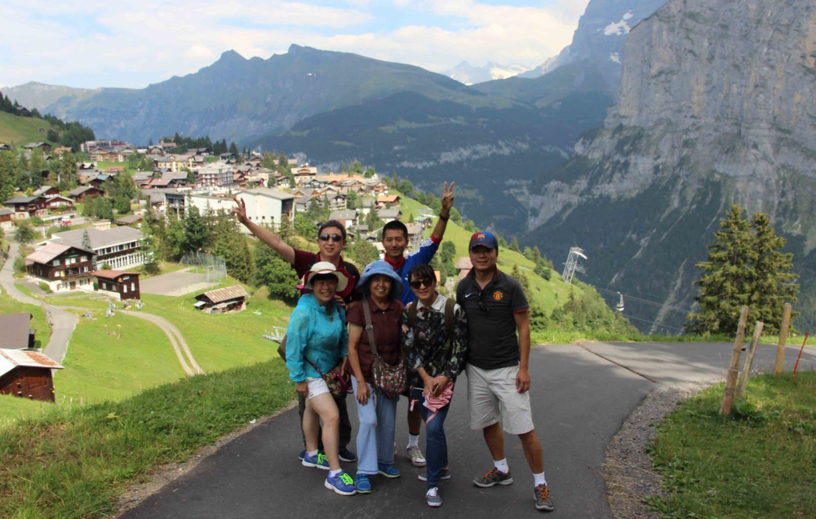 Swiss Alps: Interlaken & Murren, August 2015